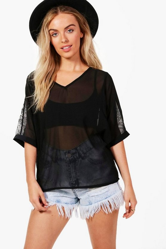 Olivia Woven Top