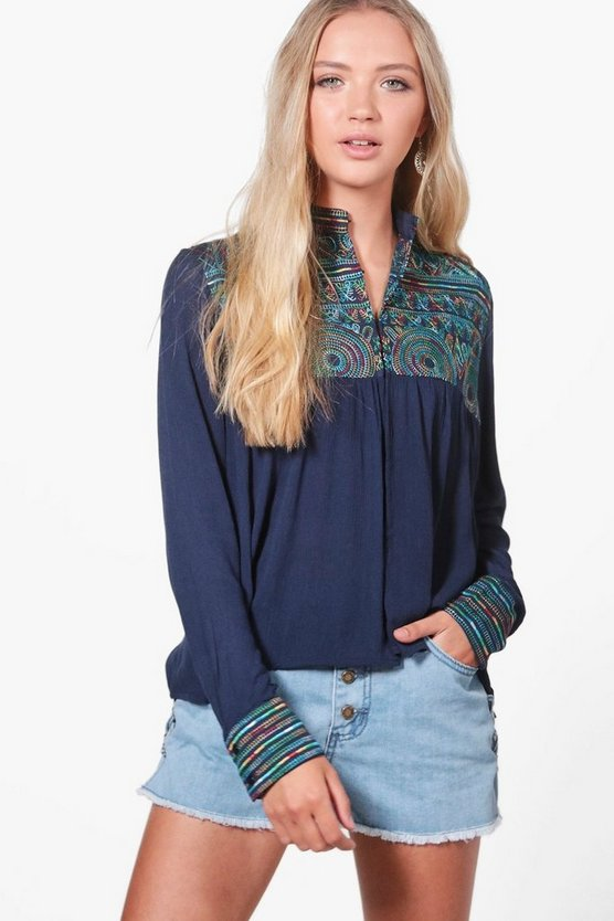 Gracie Embroidered Jacket