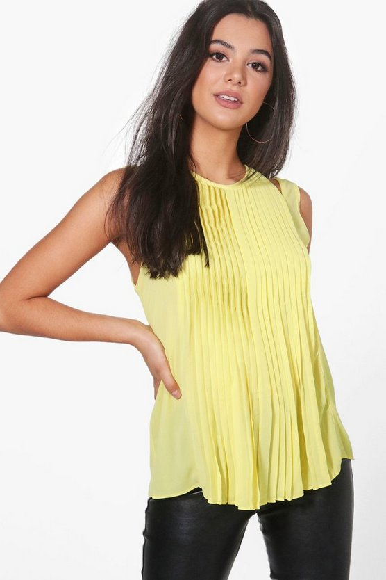 Helen Pleat Front Top