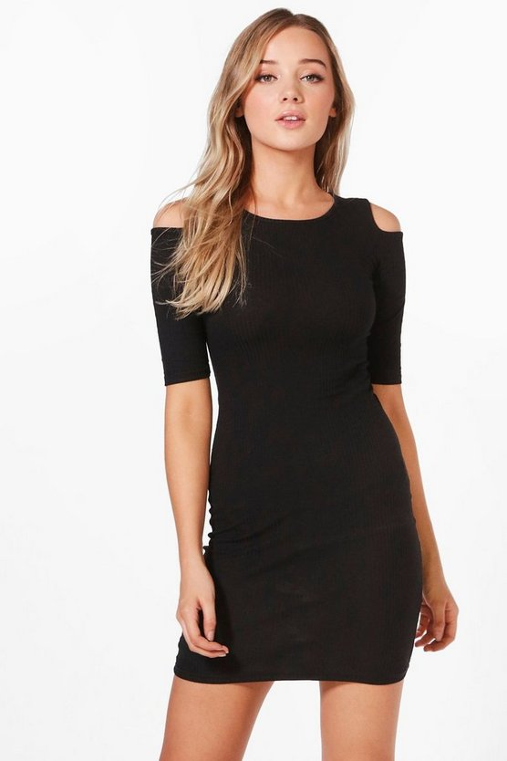 Millie Cold Shoulder Midi Dress