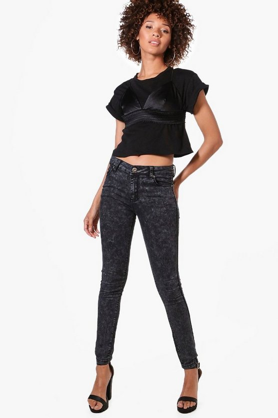 Lucy Acid Wash Jeans