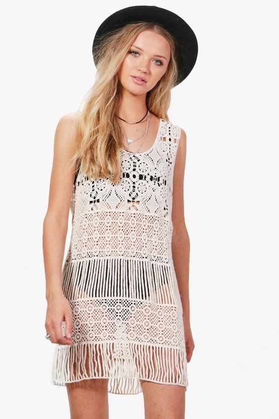 Ellie Crochet Dress
