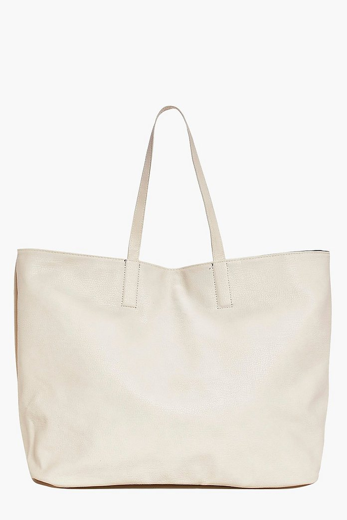 Olivia Reversible Tote Shopper Bag