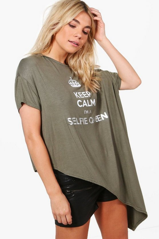 Beth Selfie Queen Slogan T-Shirt