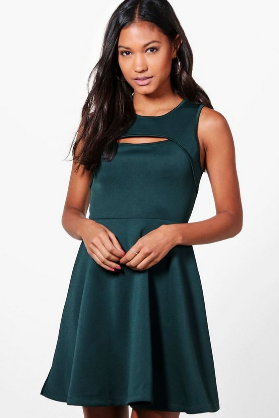 Anna Cutout Sleeveless Dress