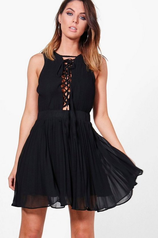 Louise Pleated Dress