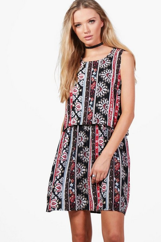 Lucy Printed Dress