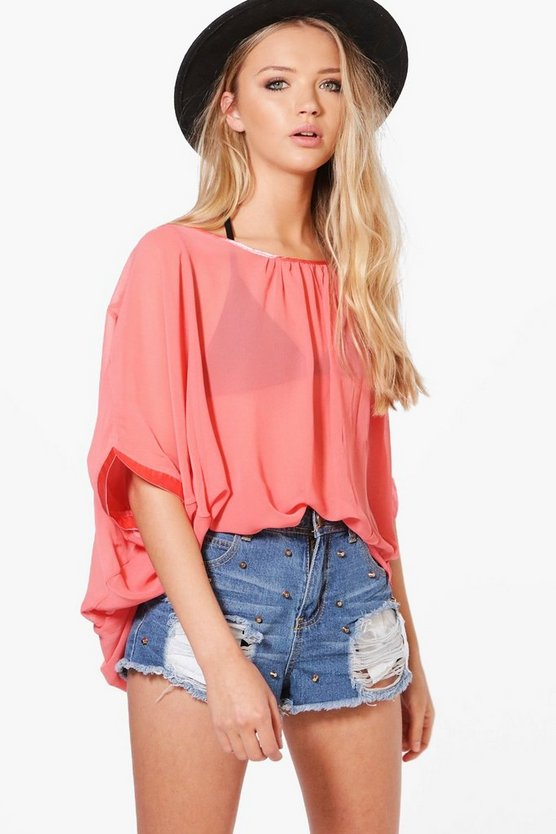 Olivia Oversized Blouse