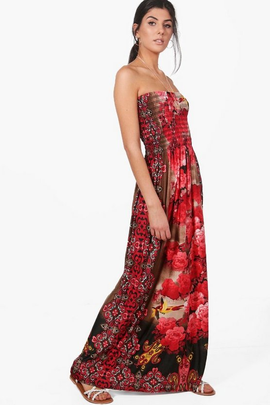 Louise Printed Maxi