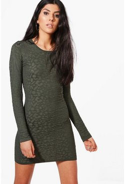 Nadia Round Neck Knitted Dress