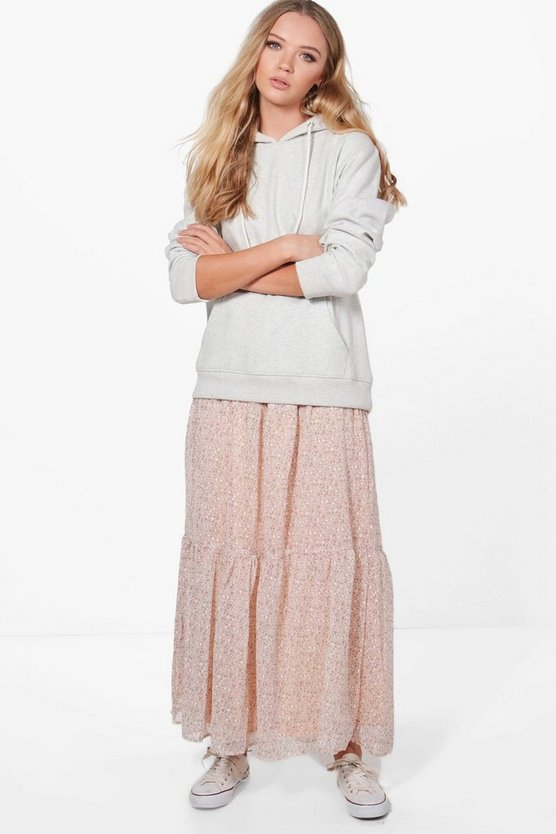 Nicole Layered Maxi Skirt