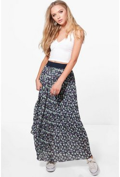 Georgia Printed Maxi Skirt