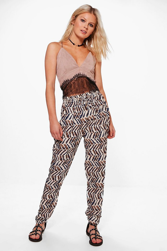 Kerry Printed Trouser