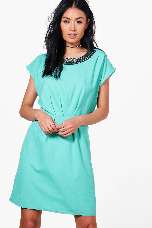 Embellished Dress  green