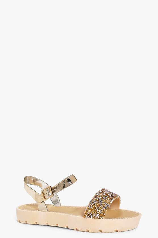 Lola Caviar Bead Cleated Sandal