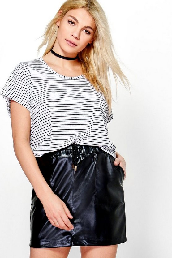 Vivian Stripe Oversized T-Shirt
