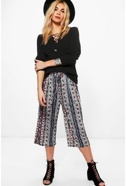 Tess Jersey Printed Culottes