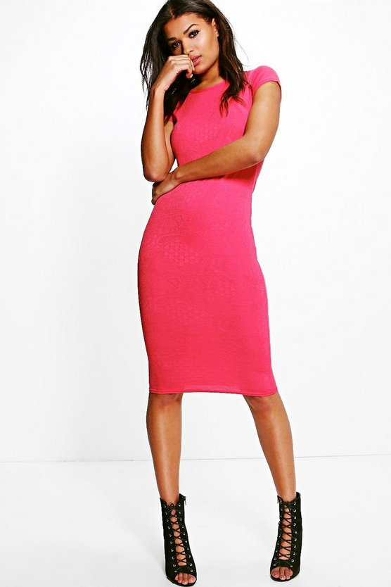 Stacey Cap Sleeve Bodycon Dress