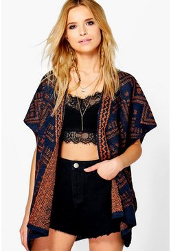 Maisie Edge To Edge Poncho Cape