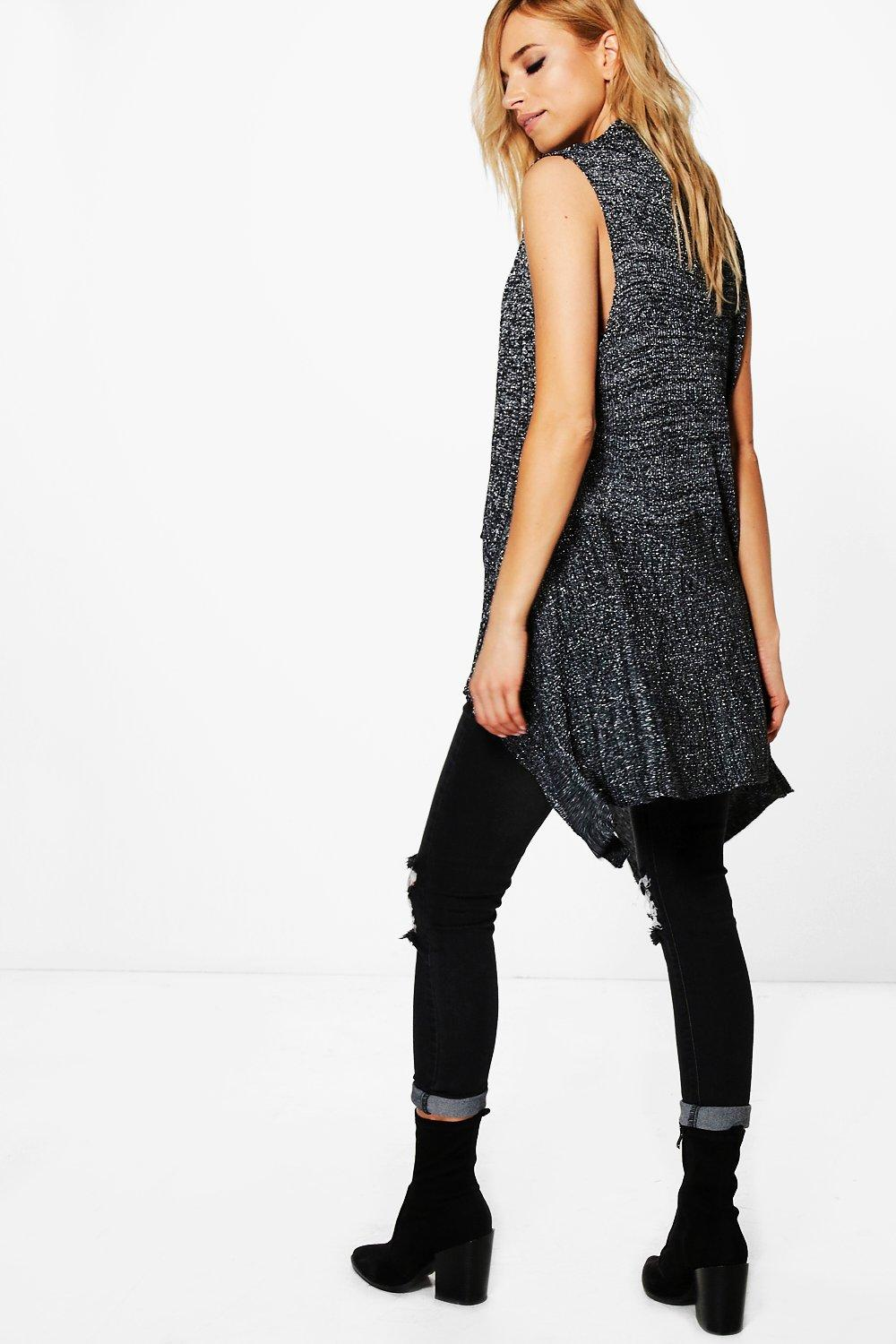 Image result for Harriet Mixed Ribbed Waistcoat