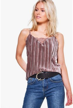 Wendi Crinkle Pleated Cami