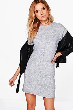 Ava Knitted Jumper Dress