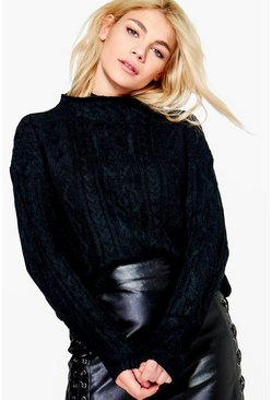 Hollie Cable Knit Jumper