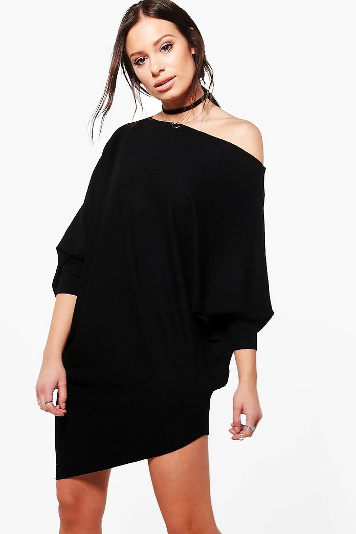 Claire Slouchy Jumper Dress