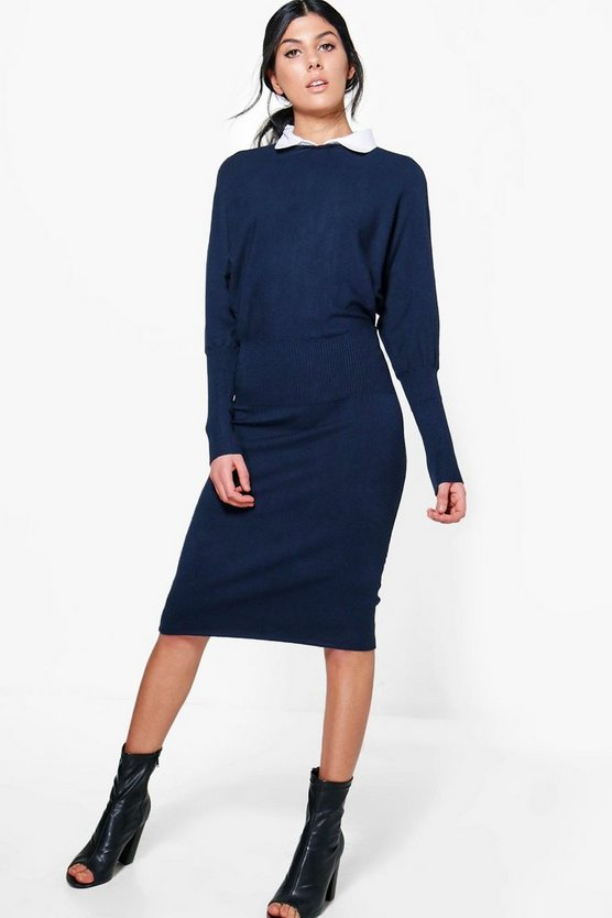 Georgina Synch Waist Jumper Dress