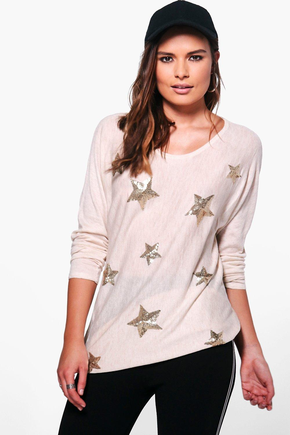 Aimee Sequin Star Jumper