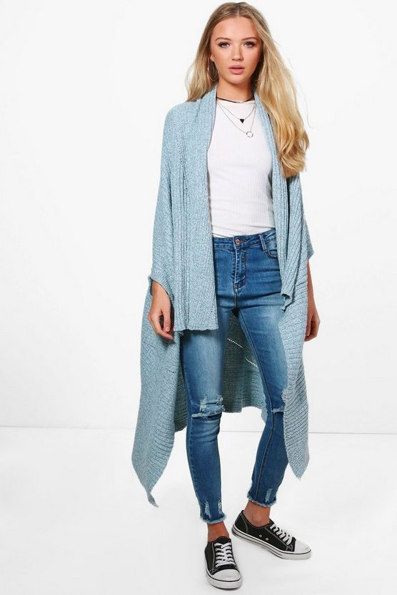 Gracie Waterfall Cardigan