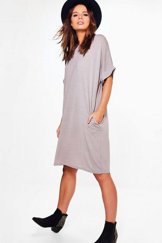 Ella Fine Gauge T Shirt Dress