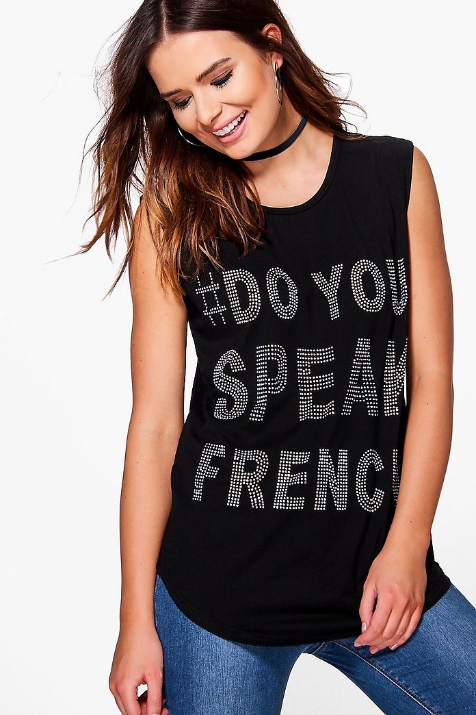 Marie French Print T-Shirt