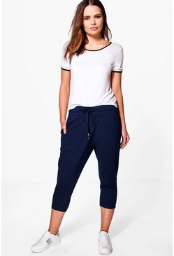 Felicity Crop Zip Detail Trouser