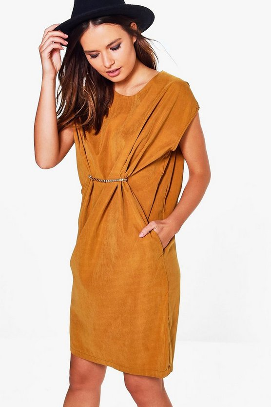 Erin Pleat Detail Dress