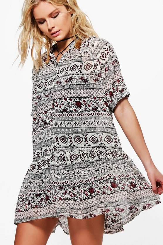 Francesca Aztec Dress