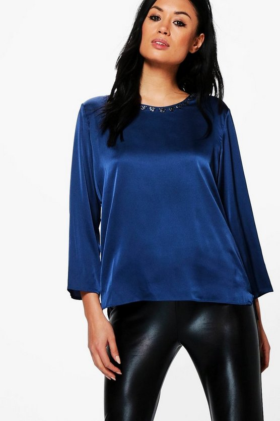 Lily Crew Neck Long Sleeved T-Shirt