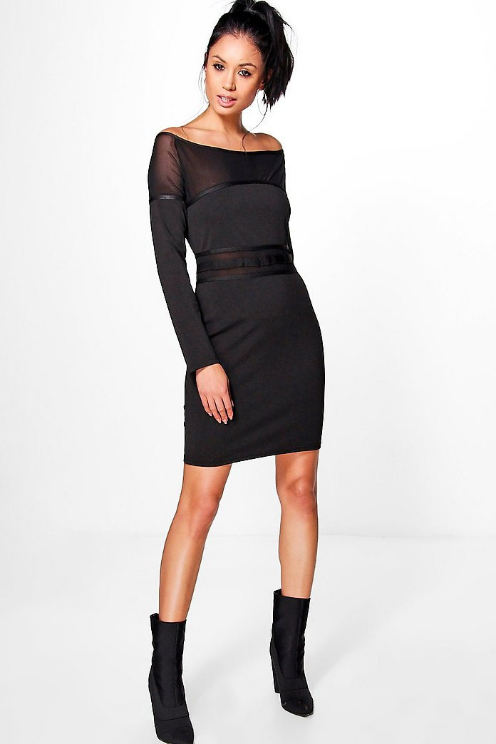 Alana Panel Detail Dress
