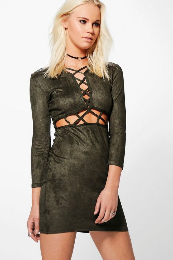 Maria Cut Out Detail Dress
