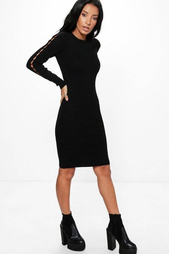 Lara Long Sleeve Bodycon Dress