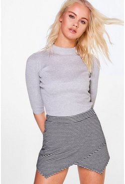 Eloise 3/4 Sleeve Turtleneck