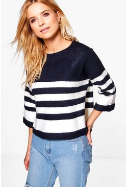 Kara Stripe Knit Jumper