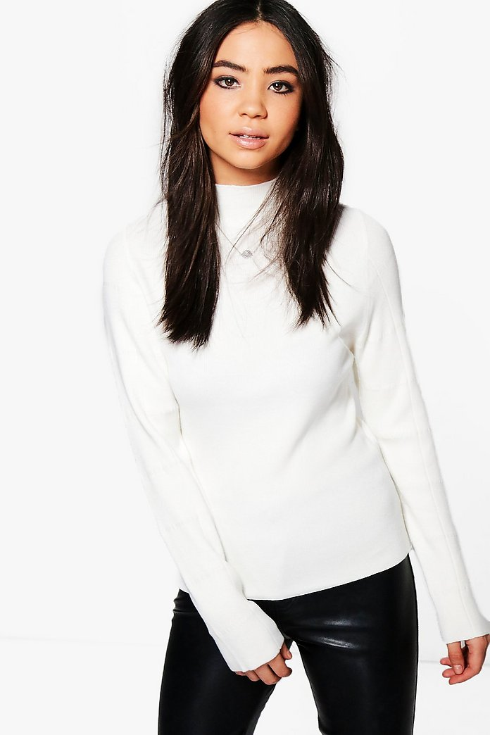 Lois Funnel Neck Jumper