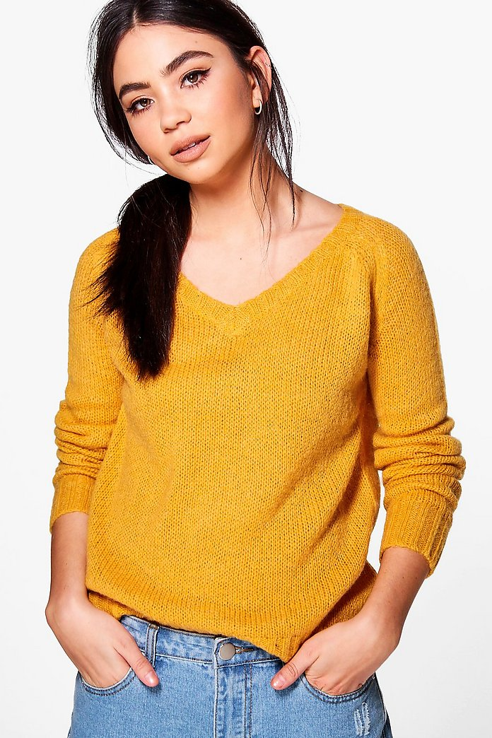Poppy Crop Knit Jumper