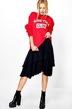 Adelynn Ruffle Detail Skirt