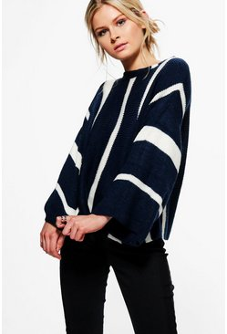 Amanda Stripe Knit Jumper