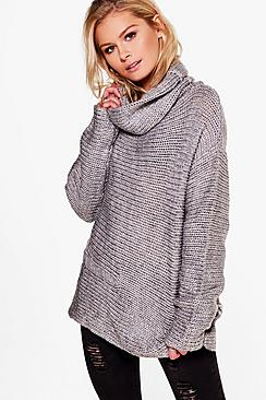 Amina Cowl Neck Jumper