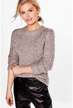 Rachel Metallic Soft Knit Jumper