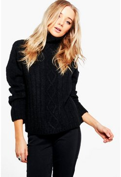 Georgina Cable Knit Jumper