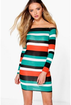 Beth Off Shoulder Bodycon Dress